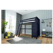 Haus Blue Twin Loft Bed w/Chest  alternate image, 2 of 11 images.