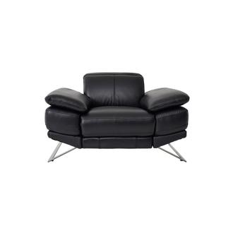 Toronto II Black Leather Power Recliner