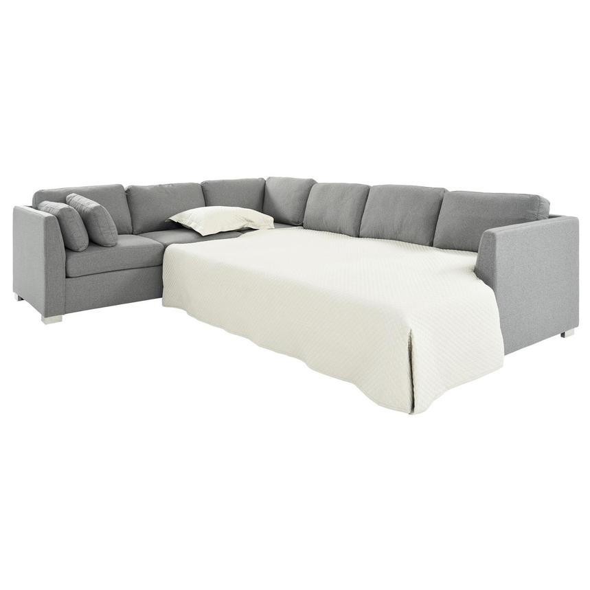 Vivian Sectional Sleeper Sofa w/Right Chaise  alternate image, 3 of 11 images.