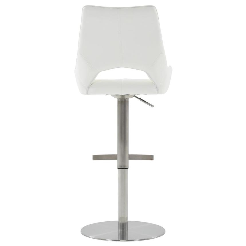 Kalia II White Adjustable Stool  alternate image, 5 of 10 images.