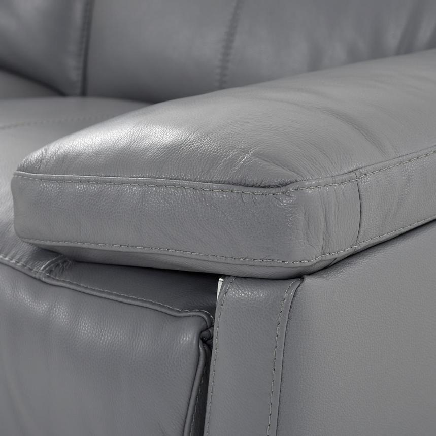 Gabrielle Leather Power Reclining Loveseat  alternate image, 8 of 11 images.