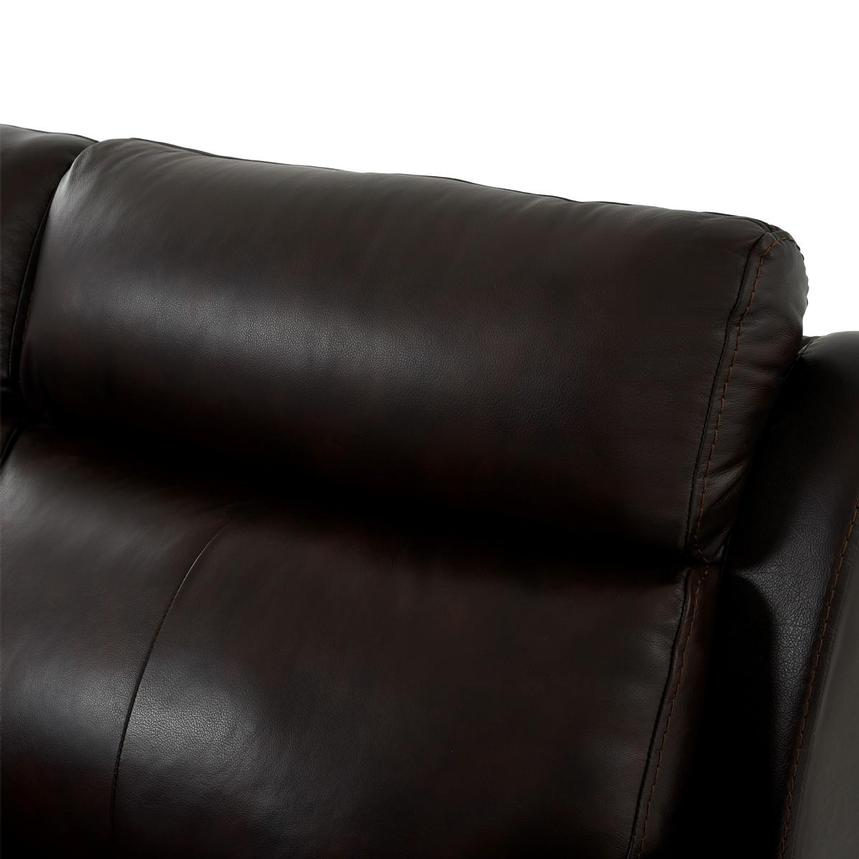 Bronco Leather Power Reclining Sofa w/Console  alternate image, 7 of 12 images.