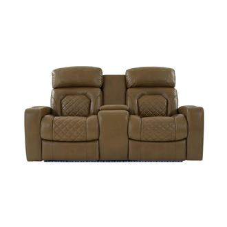 James Power Reclining Sofa w/Console