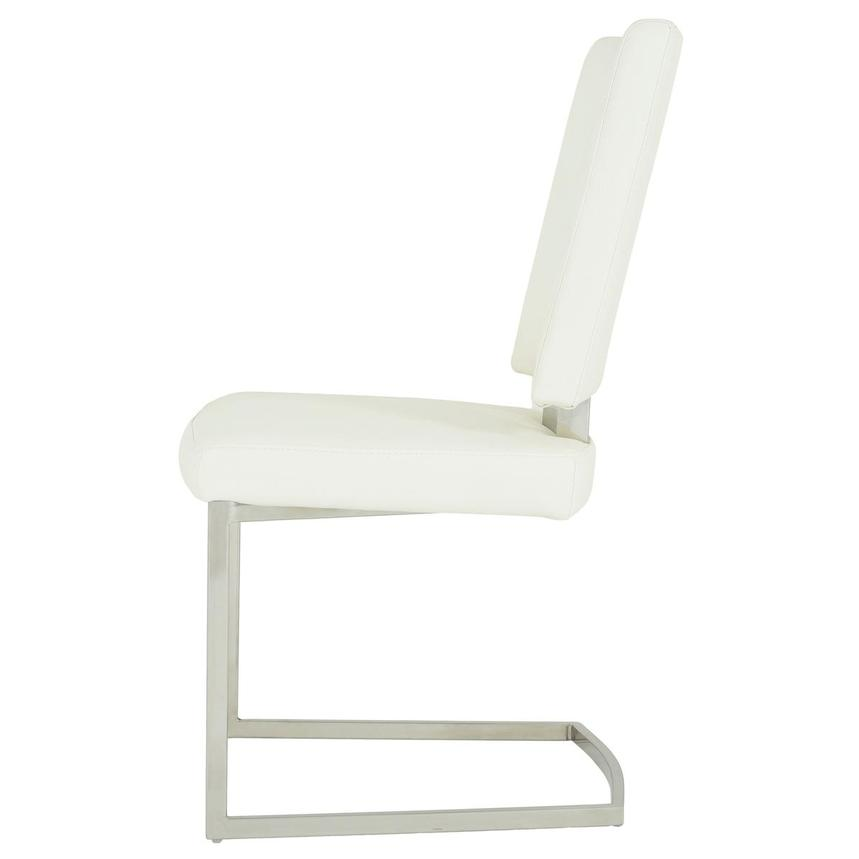 Sveva White Side Chair  alternate image, 3 of 6 images.