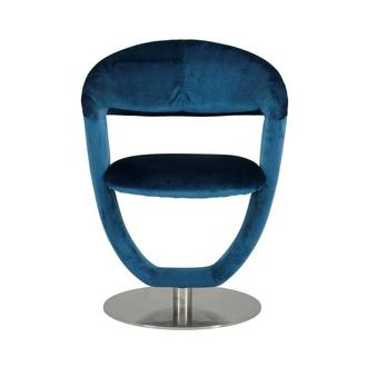 Clarisse Blue Side Chair