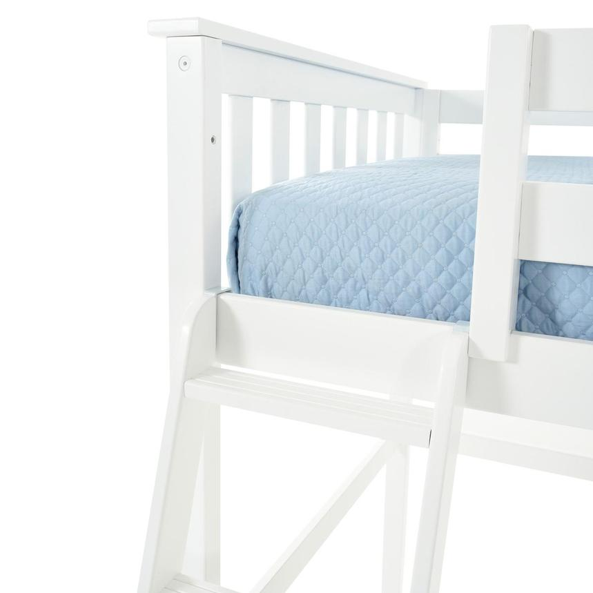 Haus White Twin Loft Bed w/Chest  alternate image, 8 of 13 images.