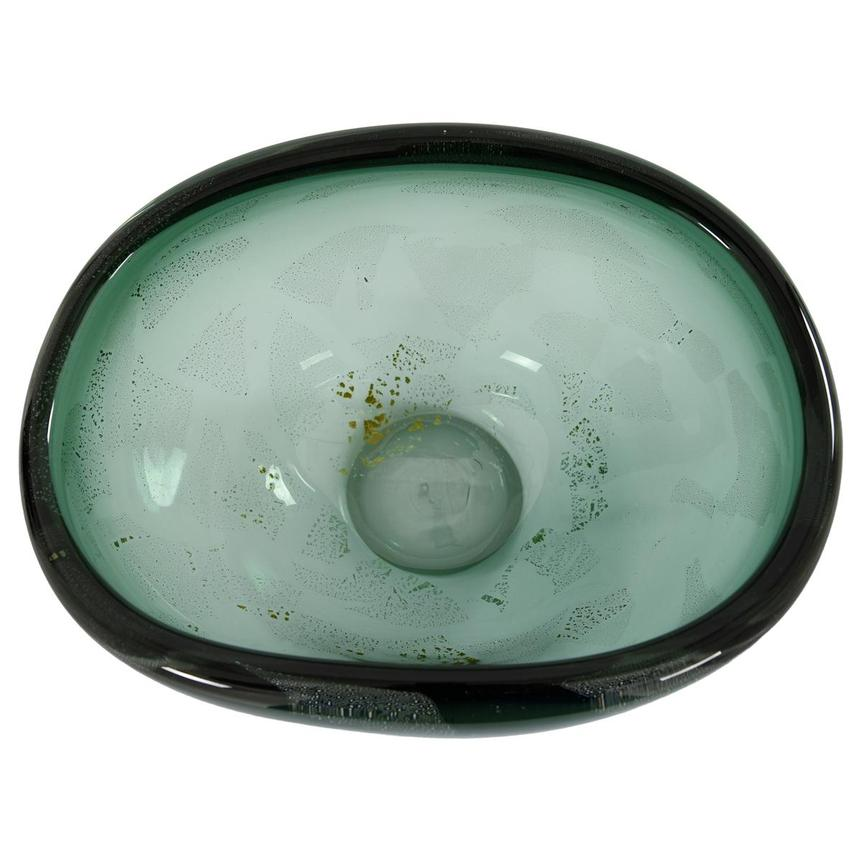Euphoria Green Glass Bowl  alternate image, 4 of 5 images.