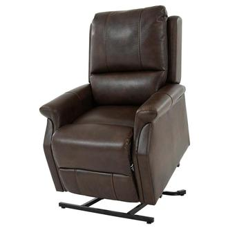 Java Brown Power Lift Recliner
