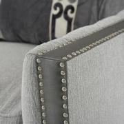 Sonia Gray Accent Chair  alternate image, 6 of 8 images.