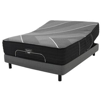 BRB-X-Class Hybrid Med. Firm Full Mattress w/Motion Perfect® IV Powered Base by Serta®