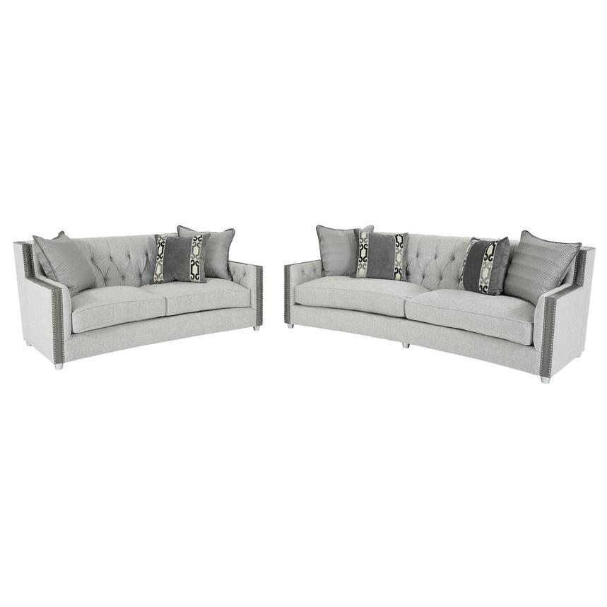 Sonia Gray Living Room Set El Dorado, El Dorado Furniture.Com