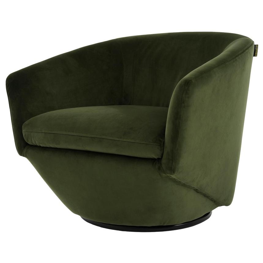 Andy Green Swivel Accent Chair w/2 Pillows  alternate image, 3 of 10 images.
