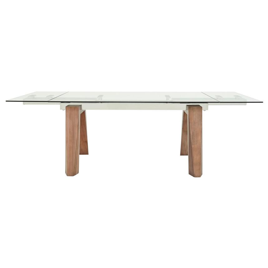 Valencia Walnut Extendable Dining Table  alternate image, 4 of 9 images.