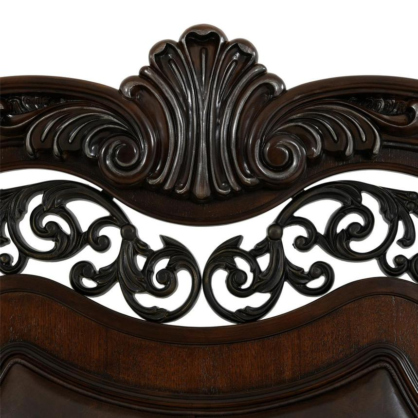 Monaco King Sleigh Bed  alternate image, 5 of 8 images.