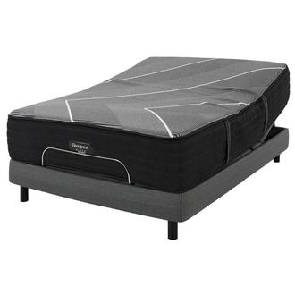 BRB-X-Class Hybrid Firm Twin XL Mattress w/Motion Perfect® IV Powered Base by Serta®