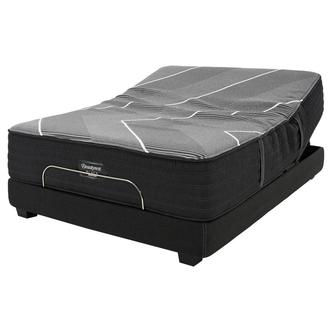 BRB-X-Class Hybrid Plush Twin XL Mattress w/Beautyrest® Black Luxury Powered Base by Simmons