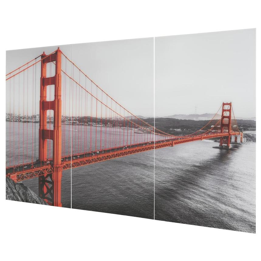 San Fran Set of 3 Acrylic Wall Art  alternate image, 3 of 6 images.