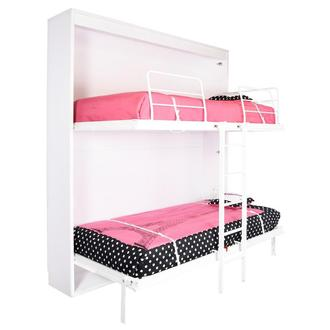 Maximus Twin Over Twin Murphy Bunk Bed Made in Spain