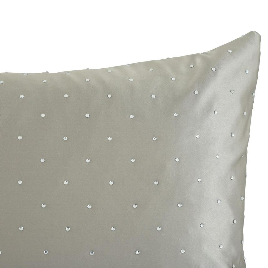 Glitzy Truffle Accent Pillow  alternate image, 3 of 4 images.