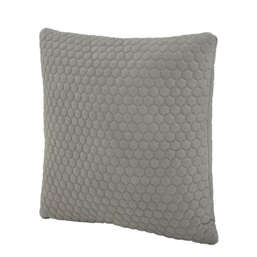 Okru Light Gray Accent Pillow  alternate image, 2 of 3 images.