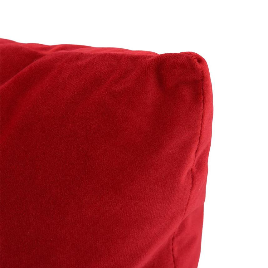 Okru Red Accent Pillow  alternate image, 3 of 3 images.