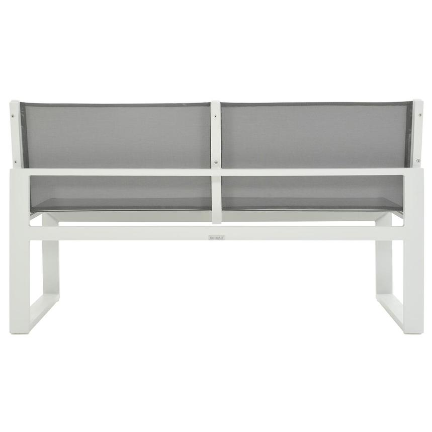 Alu'/Sling Gray Armless Loveseat  alternate image, 4 of 7 images.
