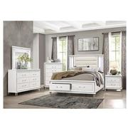 Stephanie White 4-Piece King Bedroom Set  alternate image, 2 of 6 images.