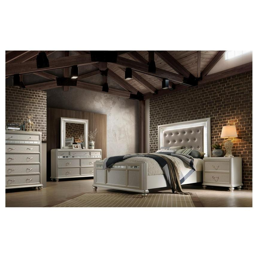 Kaleidoscope 4 Piece Queen Bedroom Set El Dorado Furniture