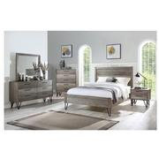 Sandy Gray 4-Piece Queen Bedroom Set  alternate image, 2 of 6 images.