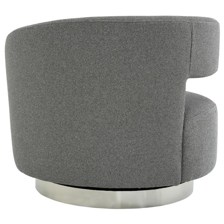 Okru Dark Gray Swivel Chair  alternate image, 4 of 7 images.