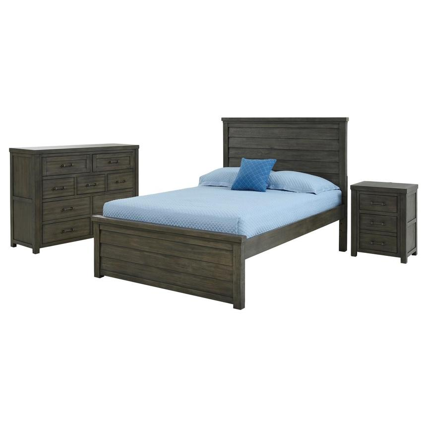 Fortress 3-Piece Full Bedroom Set  main image, 1 of 5 images.