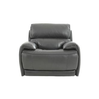 Cody Gray Leather Power Recliner