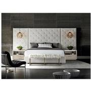 Modern Universe King Platform Bed w/Side Panels  alternate image, 2 of 8 images.