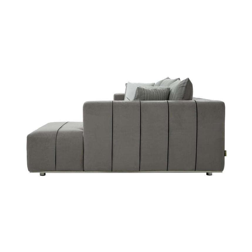 Silvia Sectional Sofa w/Right Chaise  alternate image, 4 of 10 images.