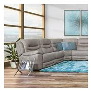 Dan Gray Power Reclining Sectional  alternate image, 2 of 10 images.