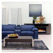 Karly Blue Power Reclining Sofa  alternate image, 2 of 11 images.