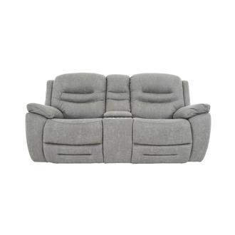 Dan Gray Power Reclining Sofa w/Console