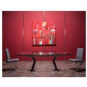 Lynne Clear/Kalia White 5-Piece Dining Set  alternate image, 2 of 16 images.