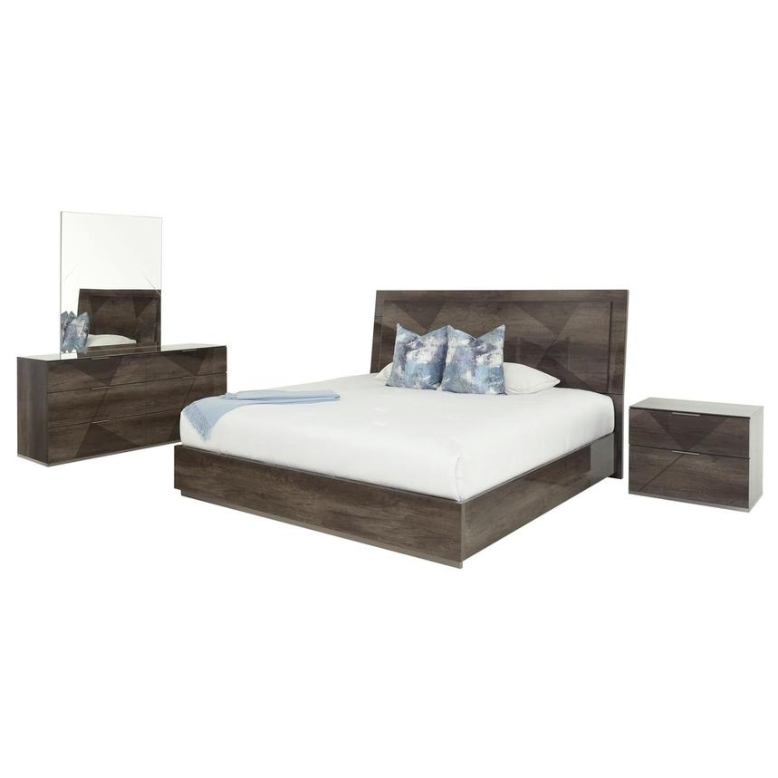 Lorenzo 4-Piece Queen Bedroom Set  main image, 1 of 7 images.