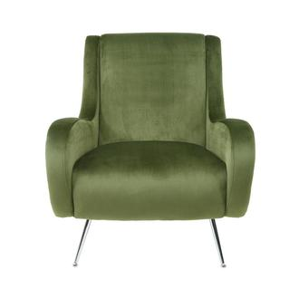 Morgan II Green Accent Chair