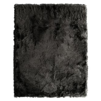 Silky Deluxe Gray 8' x 10' Area Rug