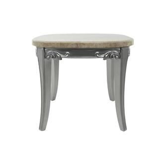 Vivaldi Silver Side Table
