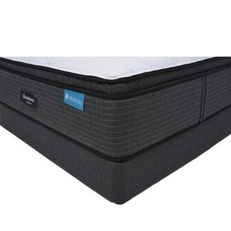 Harmony Cayman-Med Soft Full Mattress w/Low Foundation by Simmons