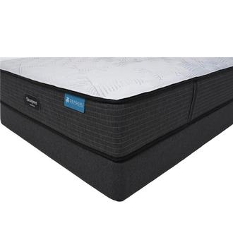 Harmony Cayman-Extra Firm King Mattress w/Low Foundation Beautyrest by Simmons