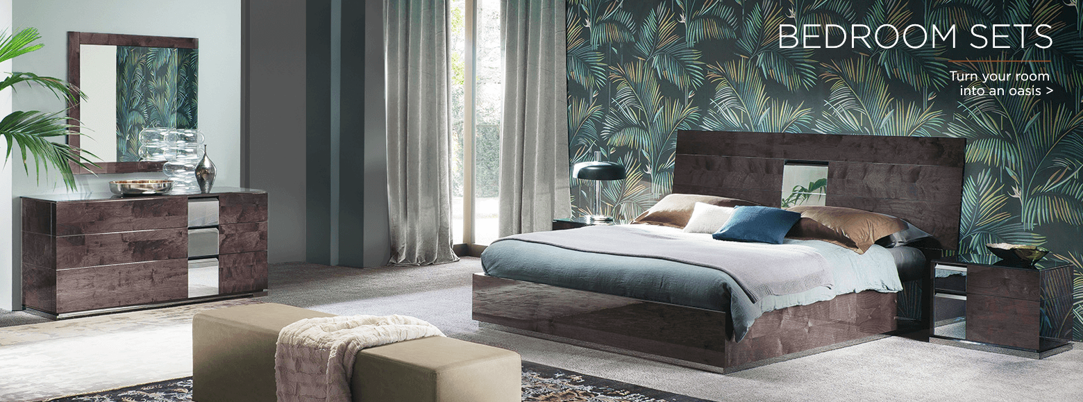 Bedroom sets. Turn your room into an oasis.
