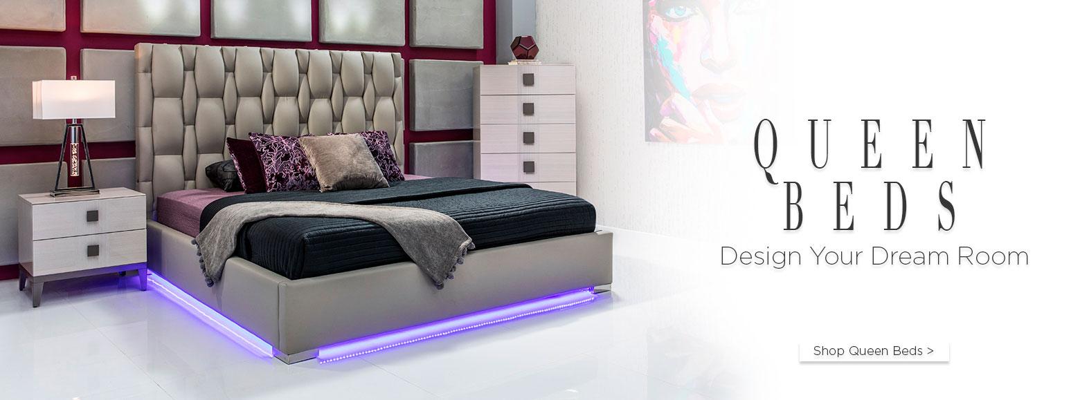Queen beds design your dream room shop queen beds