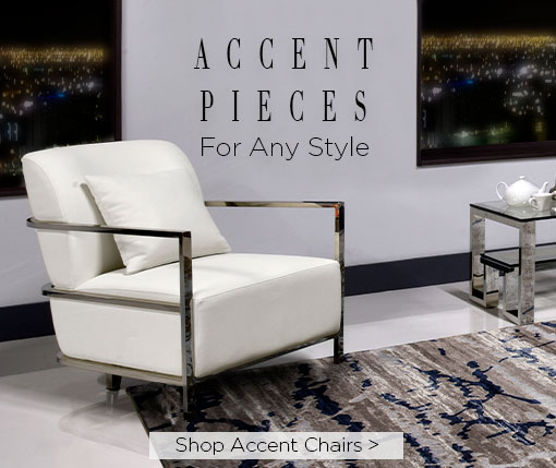 Accent pieces for any styie. Shop accent chairs.
