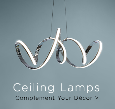 Ceiling Lamps Complement your Décor